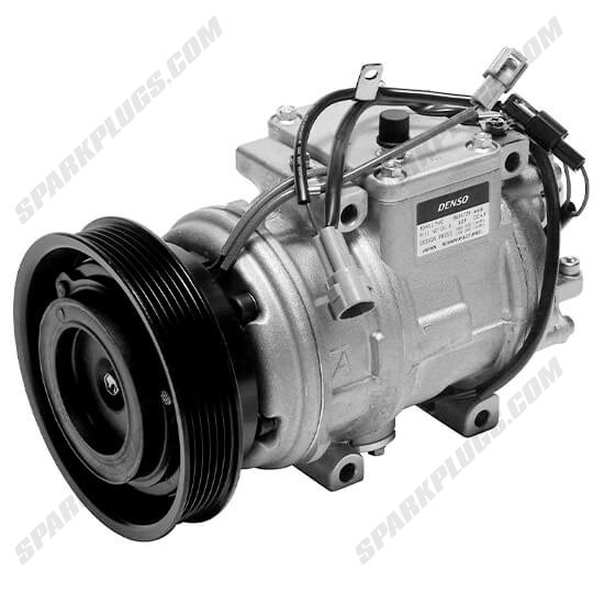 Picture of Denso 471-1362 New A/C Compressor with Clutch