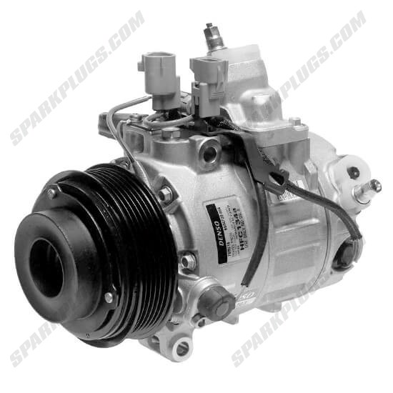 Picture of Denso 471-1363 New A/C Compressor with Clutch