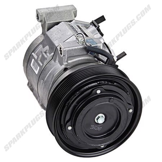 Picture of Denso 471-1370 New A/C Compressor with Clutch
