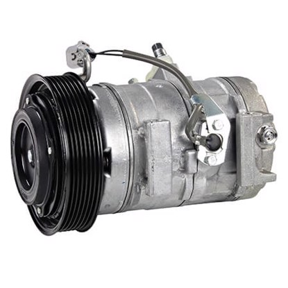 Picture of Denso 471-1371 New A/C Compressor with Clutch