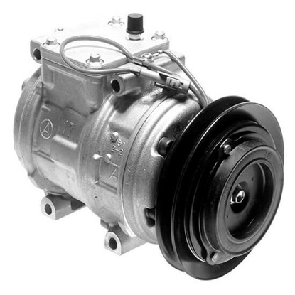 Picture of Denso 471-1372 New A/C Compressor with Clutch