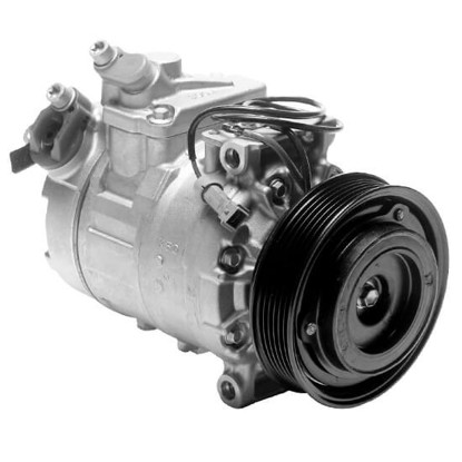 Picture of Denso 471-1373 New A/C Compressor with Clutch