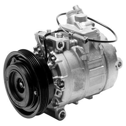 Picture of Denso 471-1374 New A/C Compressor with Clutch