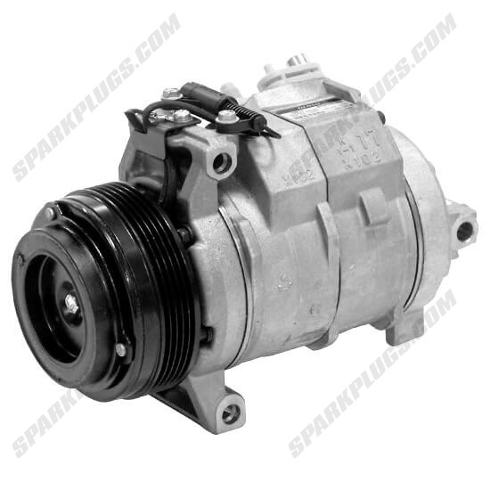 Picture of Denso 471-1381 New A/C Compressor with Clutch