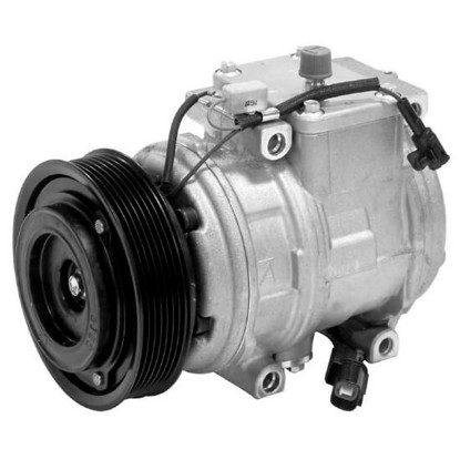 Picture of Denso 471-1382 New A/C Compressor with Clutch