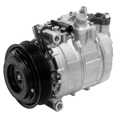 Picture of Denso 471-1383 New A/C Compressor with Clutch