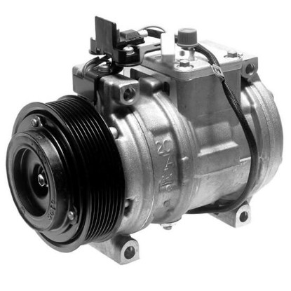 Picture of Denso 471-1386 New A/C Compressor with Clutch