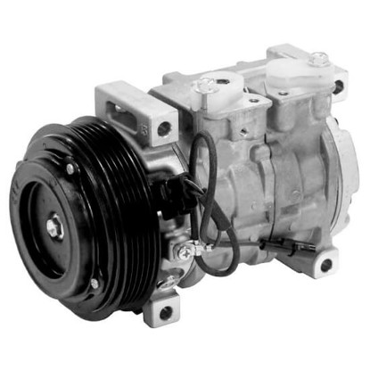 Picture of Denso 471-1390 New A/C Compressor with Clutch