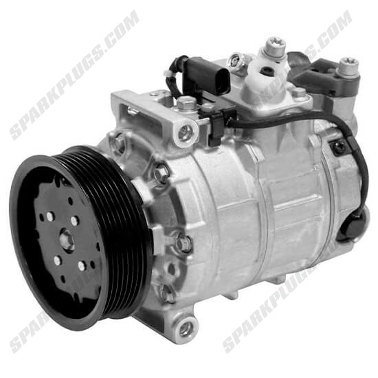Picture of Denso 471-1392 New A/C Compressor with Clutch