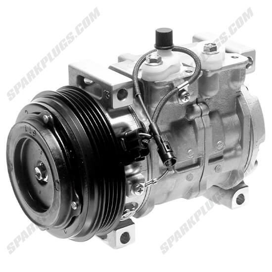 Picture of Denso 471-1393 New A/C Compressor with Clutch