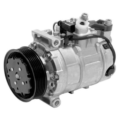 Picture of Denso 471-1403 New A/C Compressor with Clutch