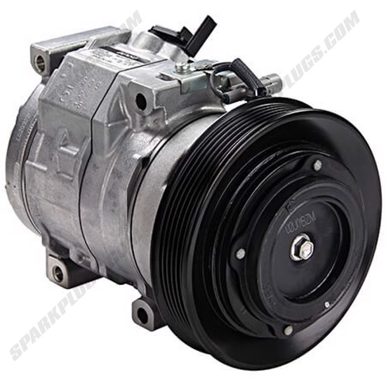 Picture of Denso 471-1407 New A/C Compressor with Clutch