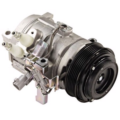 Picture of Denso 471-1411 New A/C Compressor with Clutch