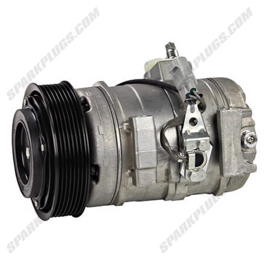 Picture of Denso 471-1413 New A/C Compressor with Clutch
