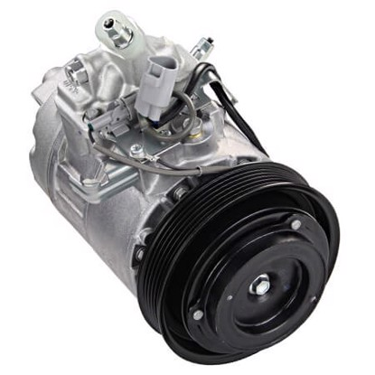 Picture of Denso 471-1414 New A/C Compressor with Clutch