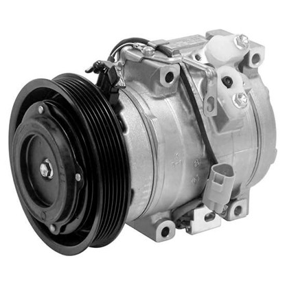 Picture of Denso 471-1416 New A/C Compressor with Clutch