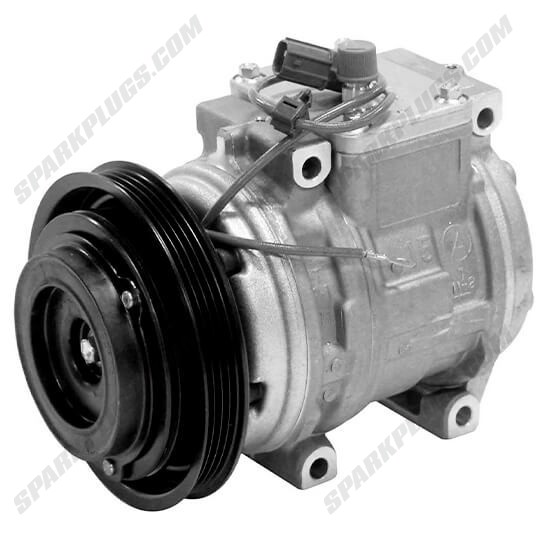 Picture of Denso 471-1420 New A/C Compressor with Clutch
