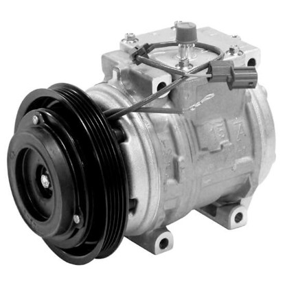 Picture of Denso 471-1421 New A/C Compressor with Clutch