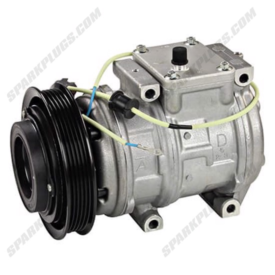 Picture of Denso 471-1423 New A/C Compressor with Clutch
