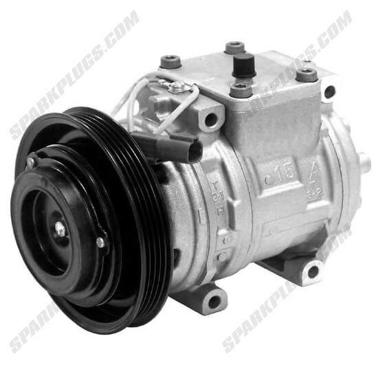 Picture of Denso 471-1424 New A/C Compressor with Clutch