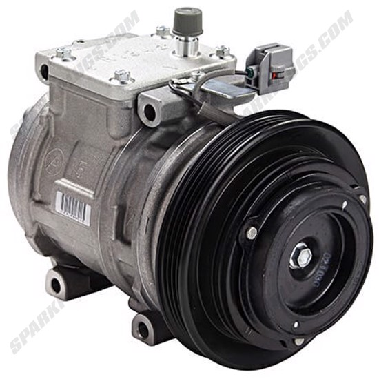 Picture of Denso 471-1427 New A/C Compressor with Clutch