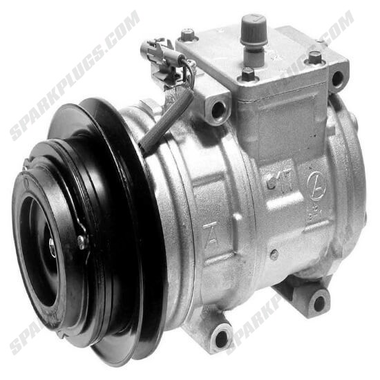 Picture of Denso 471-1428 New A/C Compressor with Clutch