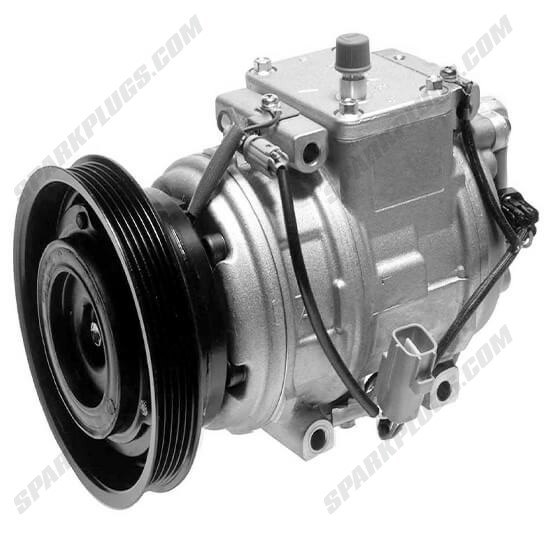 Picture of Denso 471-1429 New A/C Compressor with Clutch