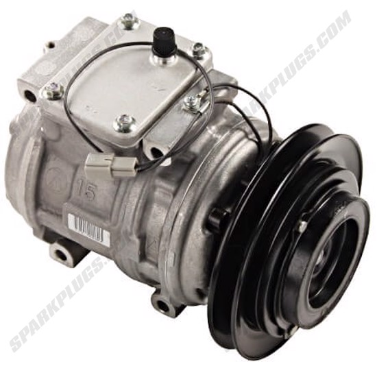 Picture of Denso 471-1433 New A/C Compressor with Clutch