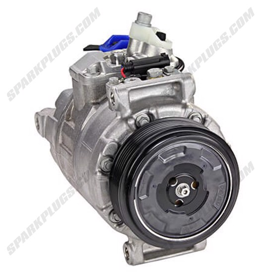 Picture of Denso 471-1466 New A/C Compressor with Clutch