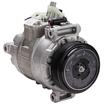 Picture of Denso 471-1469 New A/C Compressor with Clutch
