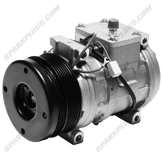 Picture of Denso 471-1481 New A/C Compressor with Clutch