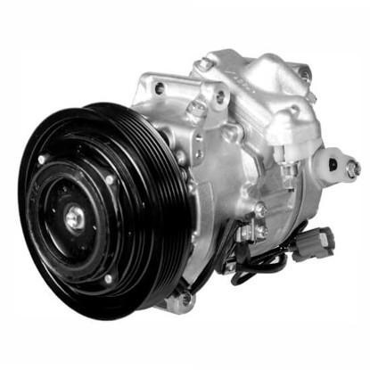 Picture of Denso 471-1482 New A/C Compressor with Clutch
