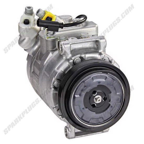 Picture of Denso 471-1483 New A/C Compressor with Clutch
