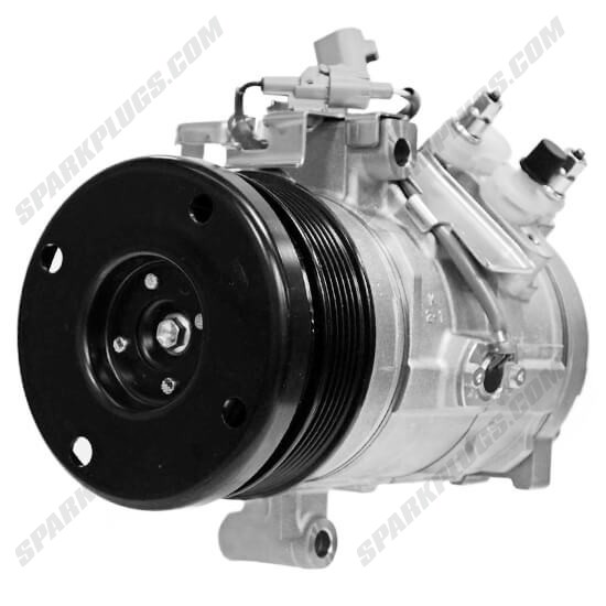 Picture of Denso 471-1485 New A/C Compressor with Clutch