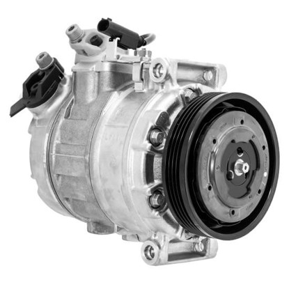 Picture of Denso 471-1490 New A/C Compressor with Clutch