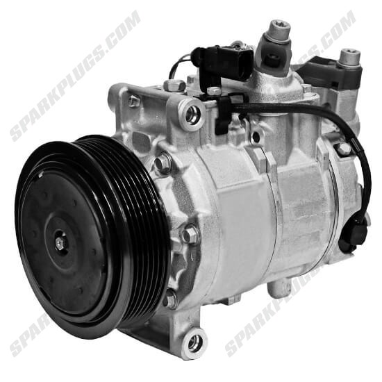 Picture of Denso 471-1491 New A/C Compressor with Clutch