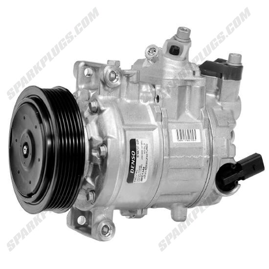 Picture of Denso 471-1494 New A/C Compressor with Clutch