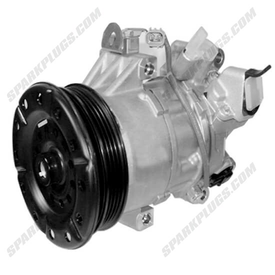 Picture of Denso 471-1496 New A/C Compressor with Clutch