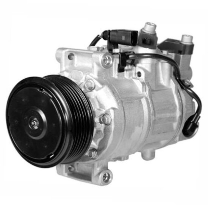 Picture of Denso 471-1503 New A/C Compressor with Clutch
