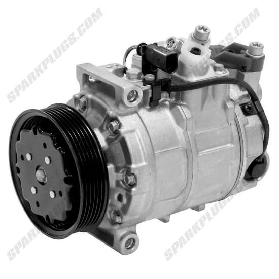 Picture of Denso 471-1514 New A/C Compressor with Clutch