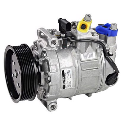 Picture of Denso 471-1516 New A/C Compressor with Clutch