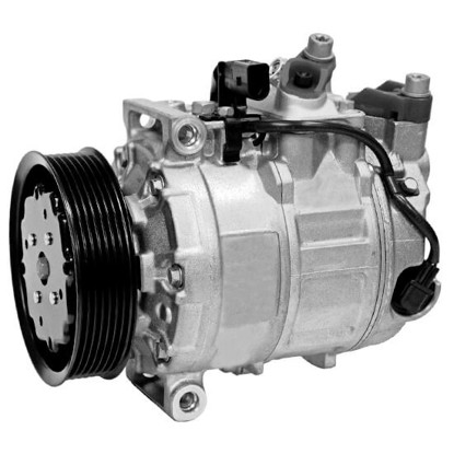 Picture of Denso 471-1524 New A/C Compressor with Clutch