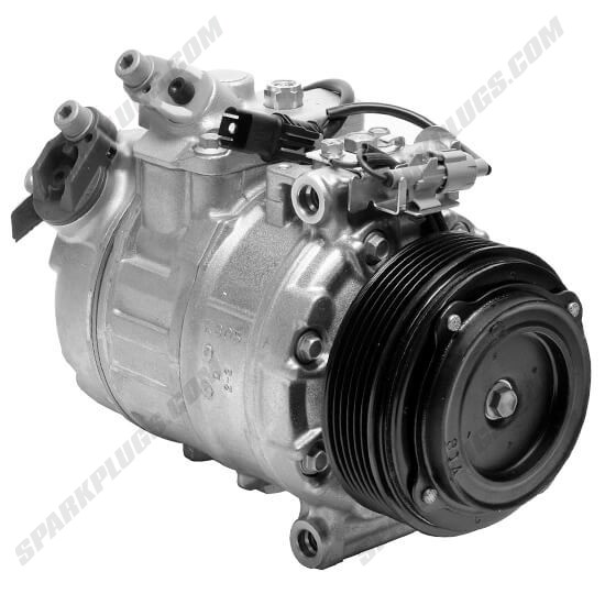 Picture of Denso 471-1527 New A/C Compressor with Clutch