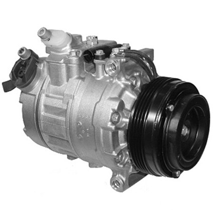 Picture of Denso 471-1528 New A/C Compressor with Clutch