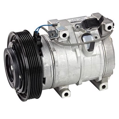 Picture of Denso 471-1537 New A/C Compressor with Clutch