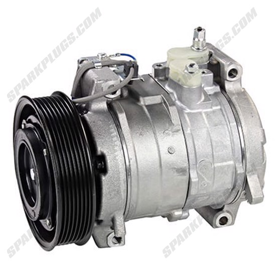 Picture of Denso 471-1538 New A/C Compressor with Clutch