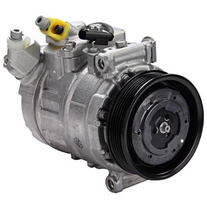 Picture of Denso 471-1542 New A/C Compressor with Clutch