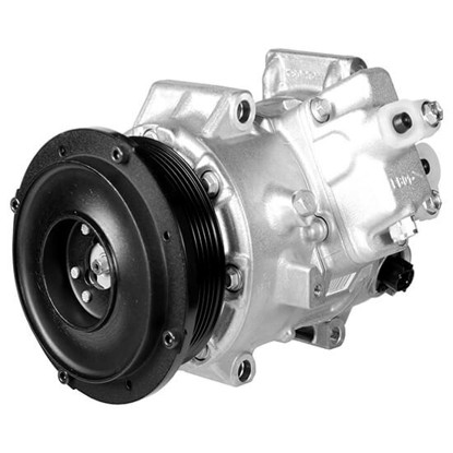 Picture of Denso 471-1573 New A/C Compressor with Clutch