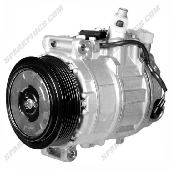 Picture of Denso 471-1579 New A/C Compressor with Clutch
