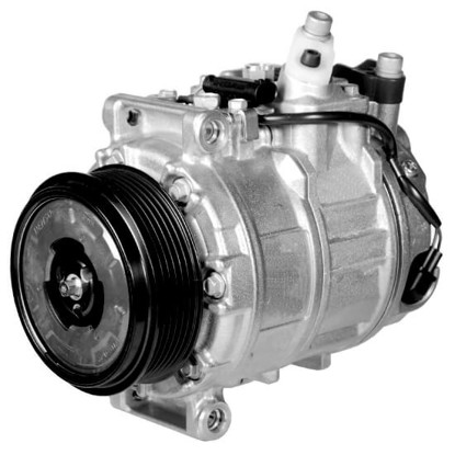 Picture of Denso 471-1594 New A/C Compressor with Clutch